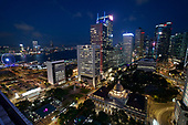 Hong Kong's Central financial district.