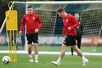 Harry Wilson of Wales in action during the Wales Training Session at The Vale Resort in Cardiff, Wales, UK. Monday 8 October 2018