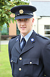 23/7/2015.    Graduating from the Garda College in Templemore this Thursday was Richard Ryan, Castleconnell, Co. Limerick who will be stationed at Newbridge.  <br /> Photograph Liam Burke/Press 22