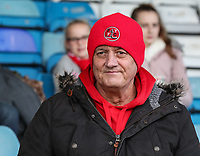 Fleetwood Town's  supporters<br /> <br /> Photographer Andrew Kearns/CameraSport<br /> <br /> The EFL Sky Bet League One - Gillingham v Fleetwood Town - Saturday 3rd November 2018 - Priestfield Stadium - Gillingham<br /> <br /> World Copyright © 2018 CameraSport. All rights reserved. 43 Linden Ave. Countesthorpe. Leicester. England. LE8 5PG - Tel: +44 (0) 116 277 4147 - admin@camerasport.com - www.camerasport.com