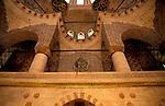 Turkey, Istanbul. Rustem Pasa Mosque, interior