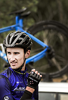 James Oram (New Zealand/Black Spoke Pro Cycling Academy) after stage two of the NZ Cycle Classic UCI Oceania Tour (Gladstone circuit) in Wairarapa, New Zealand on Thursday, 16 January 2020. Photo: Dave Lintott / lintottphoto.co.nz