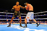 Anthony Yarde defeats Richard Baranyi during a Boxing Show at the Copper Box Arena on 8th July 2017