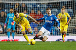 Paul Paton fouls Andy Halliday