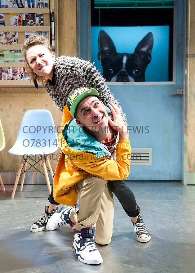 NSFW by Lucy Kirkwood, directed by Simon Godwin. With Esther Smith as Charlotte, Henry Lloyd-Hughes as Rupert. Opens at The Jerwood Theatre Downstairs at The Royal Court Theatre on 30/10/12. CREDIT Geraint Lewis