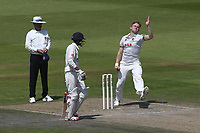 Sam Cook in bowling action for Essex during Lancashire CCC vs Essex CCC, Specsavers County Championship Division 1 Cricket at Emirates Old Trafford on 11th June 2018