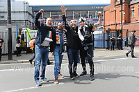 Jeff Thomas Photography<br /> www.jaypics.photoshelter.com<br /> e-mail swansea1001@hotmail.co.uk<br /> Mob: 07837 386244<br /> <br /> Supporters of Juventus and Real Madrid enjoying the atmosphere near the National Stadium of Wales before the UEFA Champions League Final on Saturday 3rd June 2017