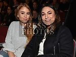 Maria Power and Ingrid Alexandra at the Keith Barry show in the TLT. Photo:Colin Bell/pressphotos.ie