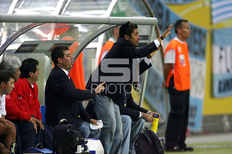 MEXICO ALEMANIA 2006.MEXSPORT DIGITAL IMAGE.24 June 2006:  Action photo of Jorge Campos of Mexico during 2006 World Cup game of the Round 2 held at Leipzig./ Foto de accion de Jorge Campos de Mexico durante juego de la ronda dos de la Copa del Mundo 2006 celebrado en Leipzig. MEXSPORT/DAVID LEAH