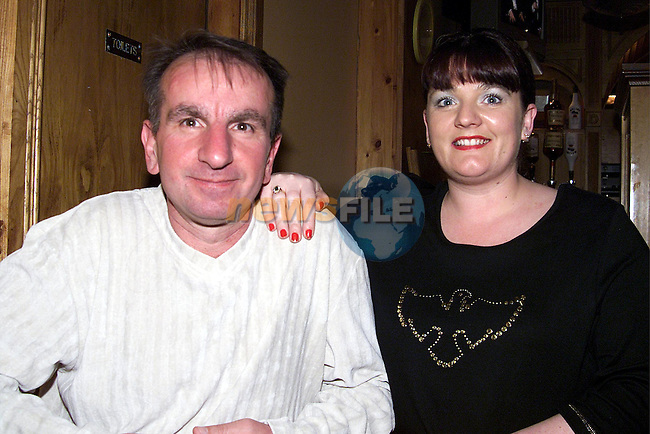 Michael and Alison Maxin enjoying a night out in the Big Tree, Clogherhead.Picture: Newsfile