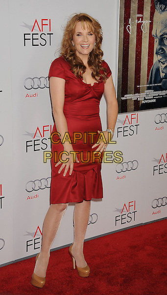 "Lea Thompson.AFI Fest 2011 Opening Night Gala Premiere of ""J. Edgar"" held at Grauman's Chinese Theatre, Hollywood, California, USA..November 3rd, 2011.full length red dress.CAP/ROT/TM.©Tony Michaels/Roth Stock/Capital Pictures"