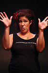 Rain Pryor in rehearsal for her show  'Fried Chicken and Latkes'  on 7/19/2012 at The Actors Temple Theatre in New York City. ***EXCLUSIVE***