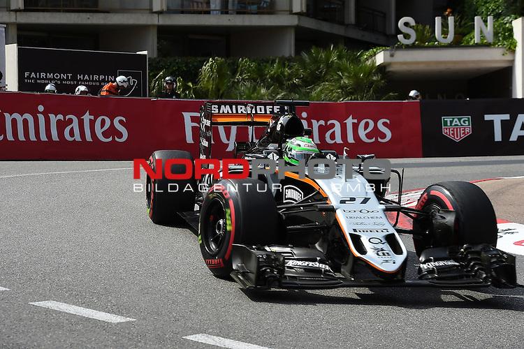 26.-29.05.2016, Circuit de Monaco, Monte Carlo, MCO, Gro&szlig;er Preis von Monaco, Monte Carlo, RACE 06,  im Bild<br /> Niko H&uuml;lkenberg (GER#27), Sahara Force India Formula One Team <br /> <br /> <br /> Foto &copy; nordphoto / Bratic