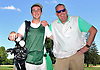 J.T. Surlis, caddie at Southward Ho Country Club in Bay Shore, left, and head starter Paul Forker, Jr. pose for a portrait at the club on Wednesday, July 26, 2017. After graduating from Bay Shore High School in June Surlis was awarded a Chick Evans Scholarship for golf caddies. He will attend Northwestern University in the fall. (Note to editors: While Mr. Forker was named in the assignment details as caddie master / head starter, he requested that his title simply be head starter.)