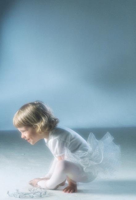 Young Ballerina.MODEL RELEASED