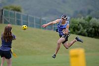 Action from the Ki o Rahi - CSW Senior Tournament at Tawa College, Tawa, New Zealand on Thursday 22 October 2015.<br /> Photo by Masanori Udagawa. www.photowellington.photoshelter.com.