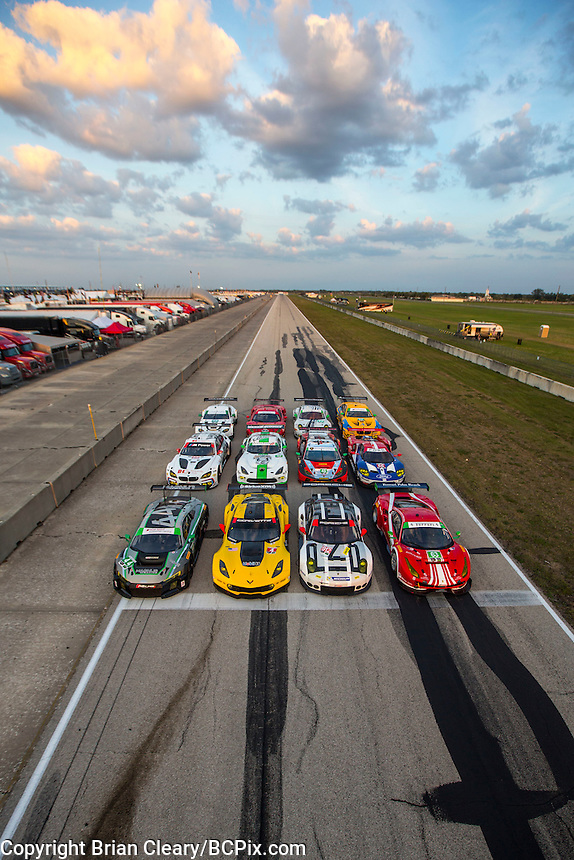 12 Hours of Sebring, Sebring International Raceway, Sebring, FL, March 2016. (photo by Brian Cleary)