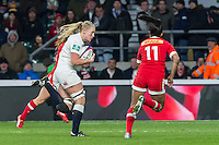 England Women v Canada Women in an Old Mutual Wealth Series, Autumn International match at Twickenham Stadium, London, England, on 26th November 2016. Full time score 39-6