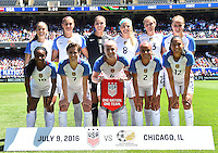 USWNT vs South Africa, July 9, 2016