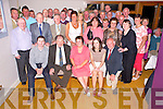 Jerry Cahill, Muckross, Killarney, pictured with family and friends as he celebrated his retirement from the Department of Agriculture after 37 years service in the Heights Hotel, Killarney on Friday night.