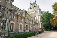 """Corton Le Chateau, Pierre Andre, """"Corton-Andre"""". Aloxe-Corton, Cote de Beaune, d'Or, Burgundy, France"""