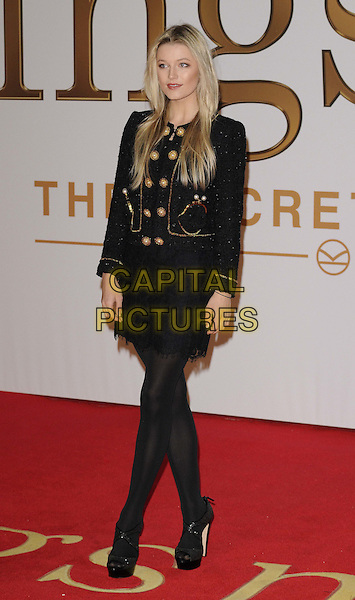 LONDON, ENGLAND - JANUARY 14: Lily Travers attends the &quot;Kingsman: The Secret Service&quot; world film premiere, Odeon Leicester Square cinema, Leicester Square, on Wednesday January 14, 2015 in London, England, UK. <br /> CAP/CAN<br /> &copy;Can Nguyen/Capital Pictures