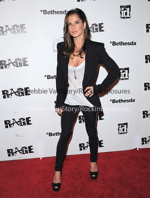 Kelly Monaco attends the official launch party for the most anticipated video game of the year RAGE in ChinaTown in Los Angeles, California on September 30,2011                                                                               © 2011 Hollywood Press Agency