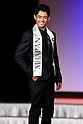 Mister Osaka, Sean Osada, competes in the finals of Mister Japan 2016 at Hotel Chinzanso Tokyo on March 1, 2016, Tokyo, Japan. Masaya Yamagishi from Kanagawa was elected Mister Japan 2016, and will compete in the next edition of Mister International. (Photo by Rodrigo Reyes Marin/AFLO)
