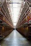The jail cells at Alcatraz in San Francisco, California. (Photo by Brian Garfinkel)