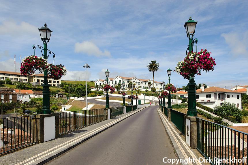 Brücke in Nordeste auf der Insel Sao Miguel, Azoren, Portugal