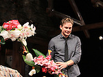 """Curtain Call - ATWT Billy Magnussen, Sigourney Weaver star iin Broadway's """"Vanya and Sonia and Masha and Spike"""" which had its opening night on March 14, 2013 at the Golden Theatre, New York City, New York.  (Photo by Sue Coflin/Max Photos)"""