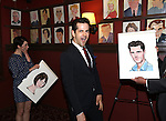 Leanne Cope and Robert Fairchild attends 'An American In Paris' Sardi's Caricature Unveiling at Sardi's on May 28, 2015 in New York City.
