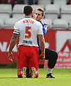 Physio Paul Dando treats Jon Ashton of Stevenage<br />  - Stevenage v Crawley Town - Sky Bet League 1 - Lamex Stadium, Stevenage - 26th October, 2013<br />  © Kevin Coleman 2013<br />  <br />  <br />  <br />  <br />  <br />  <br />  <br />  <br />  <br />  <br />  <br />  <br />  <br />  <br />  <br />  <br />  <br />  <br />  <br />  <br />  <br />  <br />  <br />  <br />  <br />  <br />  <br />  <br />  <br />  <br />  <br />  <br />  <br />  <br />  <br />  <br />  <br />  <br />  <br />  <br />  <br />  <br />  <br />  <br />  <br />  <br />  <br />  <br />  <br />  <br />  <br />  - Crewe Alexandra v Stevenage - Sky Bet League One - Alexandra Stadium, Gresty Road, Crewe - 22nd October 2013. <br /> © Kevin Coleman 2013