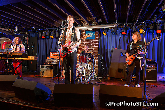 The Glass Cavalry in concert in Duck Room of Blueberry Hill in The Loop area of University City, MO on July 14, 2012.