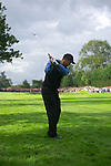 Ryder Cup 206 K Club, Straffan, Ireland..American Ryder Cup team player Tiger Woods on the 1st fairway during  the  morning fourballs session of the second day of the 2006 Ryder Cup at the K Club in Straffan, Co Kildare, in the Republic of Ireland, 23 September 2006...Photo: Eoin Clarke/ Newsfile.