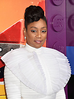 WESTWOOD, CA - FEBRUARY 02: Tiffany Haddish attends the Premiere Of Warner Bros. Pictures' 'The Lego Movie 2: The Second Part' at Regency Village Theatre on February 2, 2019 in Westwood, California.<br /> CAP/ROT/TM<br /> &copy;TM/ROT/Capital Pictures