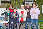 DISPLAY: Displaying their Chickens,Doves, and rabbits on Sunday at the Kingdom County Fair, at Ballybeggan Racecourse, Tralee l-r: Gerry,Moira and Catherine Griffin, Katherine and Jerry Sugrue and Gretta Quirke (Farmers Bridge,Tralee).