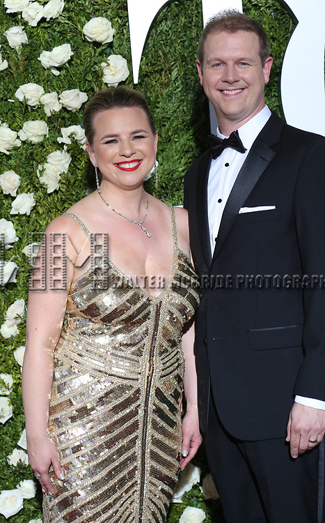 Irene Sankoff and David Hein attends the 71st Annual Tony Awards at Radio City Music Hall on June 11, 2017 in New York City.