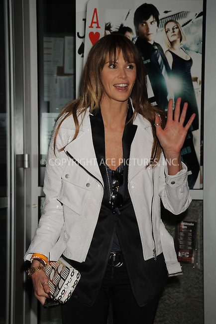 WWW.ACEPIXS.COM . . . . .....March 26, 2008. New York City.....Model Elle Macpherson attends the '21' screening hosted by Cinema Society and Calvin Klein Jeans at the IFC Center in New York City...  ....Please byline: Kristin Callahan - ACEPIXS.COM..... *** ***..Ace Pictures, Inc:  ..Philip Vaughan (646) 769 0430..e-mail: info@acepixs.com..web: http://www.acepixs.com