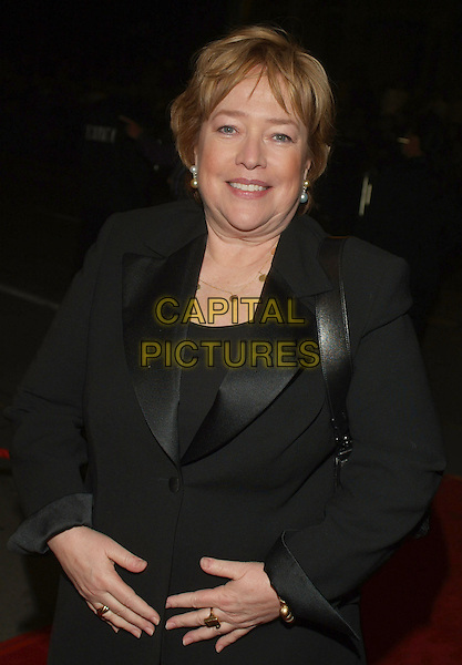 """KATHY BATES.""""Bonneville"""" Premiere during the 2006 Toronto International Film Festival held at Roy Thomson Hall, Toronto, Ontario, Canada..September 11th, 2006.Ref: ADM/BP.half length black suit jacket.www.capitalpictures.com.sales@capitalpictures.com.©Brent Perniac/AdMedia/Capital Pictures."""