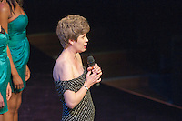 """Sarah Young singing """"You'll Never Walk Alone"""" with the ACM Gospel Choir  Special Olympics Surrey put on a show,   """"Beyond the Stars"""", at the Rose Theatre, Kingston upon Thames to raise money for the  SOGB team.  The Special Olympics are for athletes with learning disabilities."""