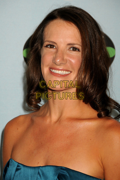 "KELLY WIGLESWORTH .""Survivor"" 10 Year Anniversary Party held at CBS Studios, Los Angeles, California, USA, 9th January 2010..portrait headshot smiling strapless blue .CAP/ADM/BP.©Byron Purvis/AdMedia/Capital Pictures."