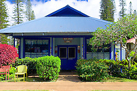 Blue Ginger Cafe, lanai City, Lanai, Hawaii