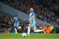 Ilkay Gundogan of Manchester City during the UEFA Champions League GROUP match between Manchester City and Celtic at the Etihad Stadium, Manchester, England on 6 December 2016. Photo by Andy Rowland.