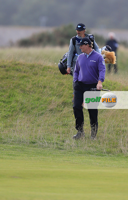 Ernie Els (RSA) during the final round of the Alfred Dunhill links Championship Old Course, St Andrews, Fife, Scotland.<br /> Picture Fran Caffrey www.golffile.ie