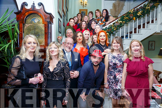 Christmas Party: Members of the Listowel  Zumba dance troupe attending their Christmas party at the Listowel Arms Hotel on Saturday nigh last.