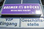 22.03.2020, Stadion an der Bremer Brücke, Osnabrück, Rund um das Stadion an der Bremer Brücke<br /> <br /> <br /> im Bild<br /> Eingang zur Geschäftsstelle und VIP-Bereich. Feature / Symbol / Symbolfoto / charakteristisch / Detail<br /> <br /> Foto © nordphoto / Paetzel