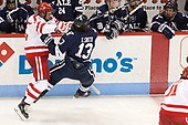 Nikolas Olsson (BU - 13), Evan Smith (Yale - 13) The Boston University Terriers defeated the visiting Yale University Bulldogs 5-2 on Tuesday, December 13, 2016, at the Agganis Arena in Boston, Massachusetts.