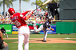 Masahiro Tanaka (Yankees),<br /> MARCH 6, 2016 - MLB :<br /> Masahiro Tanaka of the New York Yankees pitches to Cesar Hernandez of the Philadelphia Phillies during a spring training baseball game at Bright House Field in Clearwater, Florida, United States. (Photo by Thomas Anderson/AFLO) (JAPANESE NEWSPAPER OUT)