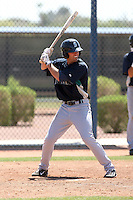 Jake Schlander #53 of the Seattle Mariners plays in a minor league spring training intrasquad game at the Mariners minor league complex on March 27, 2011  in Peoria, Arizona. .Photo by:  Bill Mitchell/Four Seam Images.